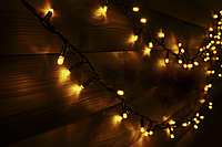 Светодиодная гирлянда String light (цепь) Static (статический) 200 LED 10м