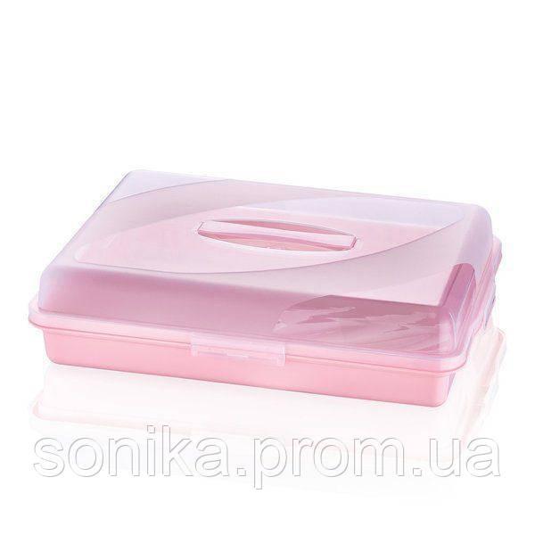 Тортівниця прямокутна MIX Bager BG-453 45/31/10 см