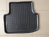 Задній лівий килимок салону AvtoGumm Автогум Шкода Октавія А7 Skoda Octavia A7 SkodaMag, фото 1