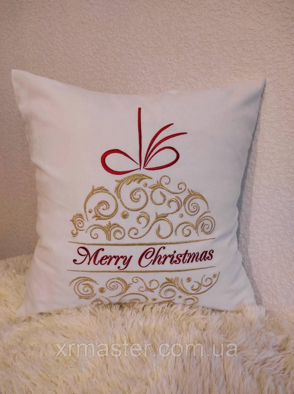 Подарочная подушка Merry Christmas 2