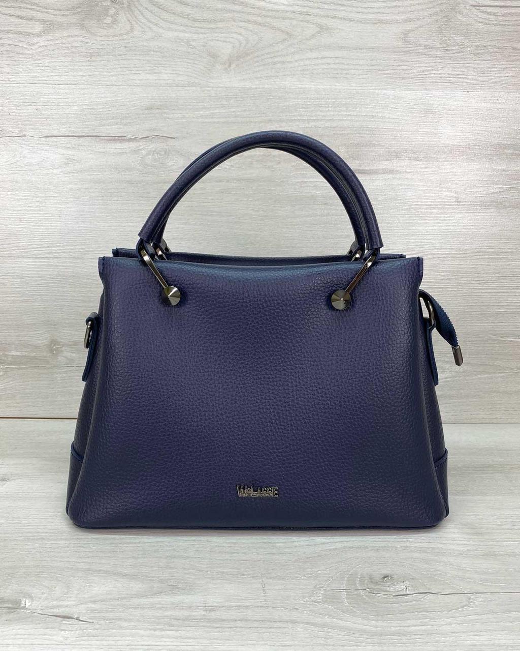 Жіноча сумка WeLassie Грана синя 32523
