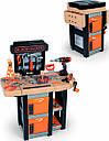 Детский набор инструментов Smoby Смоби Мобильная мастерская 37 аксессуаров Black+Decker 360315, фото 2