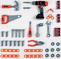 Детский набор инструментов Smoby Смоби Мобильная мастерская 37 аксессуаров Black+Decker 360315, фото 5