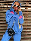Костюм женский теплый голубой, фото 2