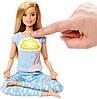 Barbie Интерактивная кукла Барби Йога Медитация Breathe with me Дыши со мной Mattel GNK01, фото 2