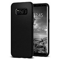 Чохол Spigen для Samsung S8 Plus, Liquid Air, Black (571CS21663)