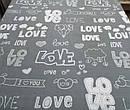 Бязь Голд Люкс Love, фото 2