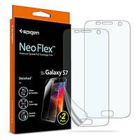 Защитная пленка Spigen для Samsung S7 Neo Flex, 2 шт (555FL21380)