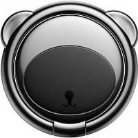 Кільце-тримач Baseus для смартфона Bear Finger Metal Ring, Black (SUBR-01)