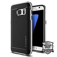 Чехол Spigen для Samsung S7, Neo Hybrid, Satin Silver (555CS20142)