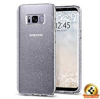 Чехол Spigen для Samsung S8 Liquid Crystal Glitter, Crystal Quartz