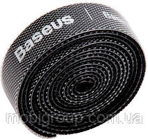 Органайзер проводов Baseus ColourfulCircle Velcrostrap 3m, Black (ACMGT-F01)