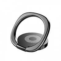 Кольцо-держатель Baseus для смартфона, Black (SUMQ-01)