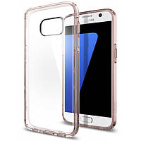 Чехол Spigen для Samsung S7 Ultra Hybrid, Rose Crystal