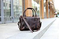 """Мужская кожаная сумка """"StyleMan"""" коричневого цвета"""