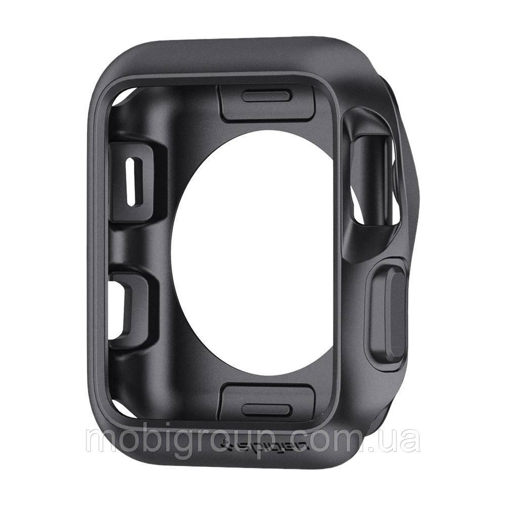 Чохол Spigen для Apple Watch Slim Armor (42mm), Space Gray (059CS22563)