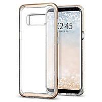 Чехол Spigen для Samsung S8 Neo Hybrid Crystal Glitter, Gold Quartz