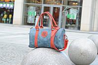 Женская кожаная дорожная сумка, Кожаный саквояж, Стильная спортивная сумка