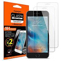 Защитное стекло Spigen для iPhone 6S / 6 (012GL20145) + Бесплатная поклейка