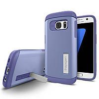 Чехол Spigen для Samsung S7 Slim Armor, Violet
