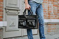 Портфель мужской  EveryDay BlackPremium черного цвета