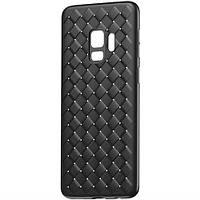Чехол Baseus для Samsung Galaxy S9 BV Weaving, Black (WISAS9-BV01)