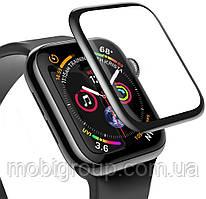Защитное стекло Baseus Full-screen для Apple Watch 4 (40mm), Black  (SGAPWA4-A01)
