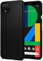 Чохол Spigen для Google Pixel 4 Thin Fit, Black (F26CS27566)
