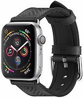 Ремешок Spigen для Apple Watch Series 5/4/3/2/1 40/38 mm Retro Fit, Black (061MP27003)