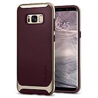 Чохол Spigen для Samsung S8 Plus Neo Hybrid, Burgundy