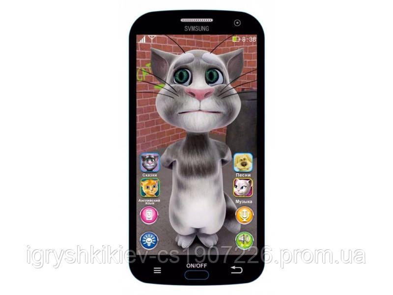 """Моб.телефон батар.,""""Смартфон-Кот Том"""",,в кор. 18*15*3см /144-2/"""