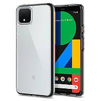 Чохол Spigen для Google Pixel 4 Hybrid Ultra, Crystal Clear (F26CS27570)