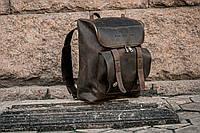 Рюкзак кожаный Калифорния шоколадного цвета
