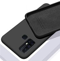 Чехол Silicone Case Full для Huawei P Smart 2020 Black