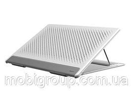 Подставка Baseus для ноутбука Let''s go Mesh Portable Laptop Stand, White+Gray (SUDD-2G)