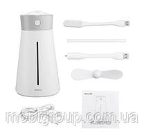 Зволожувач повітря Baseus Slim Waist Humidifier (with accessories), White (DHMY-B02)