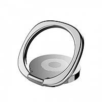 Кільце-тримач Baseus для смартфона, Silver (SUMQ-0S)
