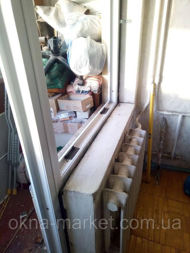 Балконний блок Salamander Київ пр. Оболонський 11 фото 6 бригади