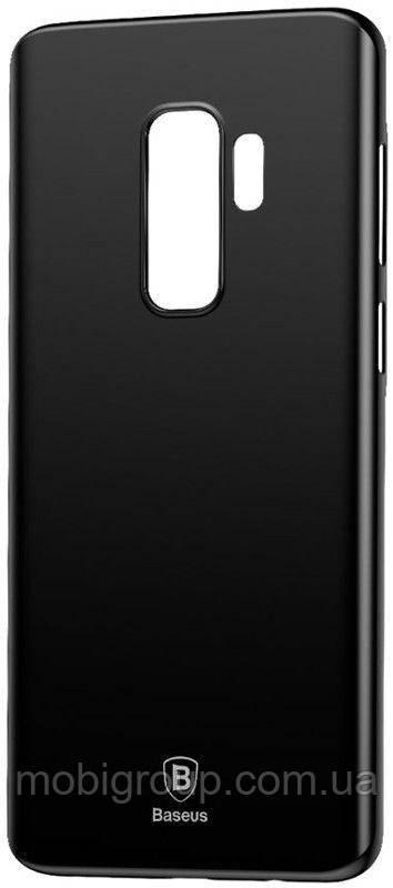 Чехол Baseus для Samsung Galaxy S9 Plus Wing Case, Black (WISAS9P-А01)