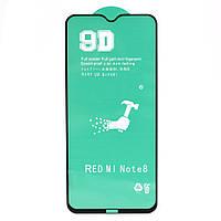 Защитная пленка Ceramics 9D Full Glue для Xiaomi Redmi Note 8T, Black
