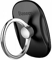 Кольцо-держатель Baseus Multifunctional для смартфона, Black (SUMR-01)