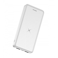 Power Bank Baseus M36 Wireless Charger 10000 мАч, White (PPALL-M3602)