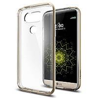 Чехол Spigen для LG G5 Neo Hybrid Crystal, Champagne Gold
