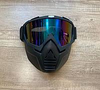 Очки для горных лыж и сноуборда на все лицо (МГ-1019-3)
