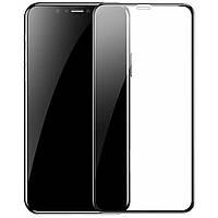 Захисне скло Baseus для iPhone XR Full coverage curved, Black (SGAPIPH61-KC01)