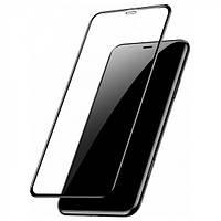Защитное стекло Baseus для iPhone XS Max Full coverage curved, Black (SGAPIPH65-KC01)