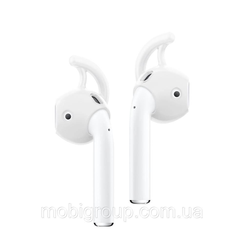 Тримачі для навушників Airpods Spigen TEKA™ Earhook, White (000SD21192)