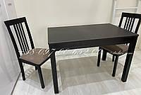 Комплект Венге Раскладной Берлин + Ника Н,  2 стула, фото 1