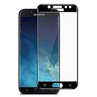 Защитное стекло 3D Perfect Protection Full Glue Lion для Samsung J5 2017 (J530), Black
