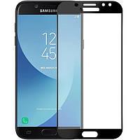 Защитное стекло 3D Perfect Protection Full Glue Lion для Samsung J7 2017 (J730), Black